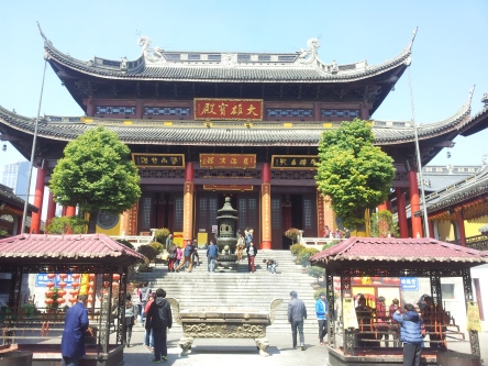 Nanchan Temple in downtown Wuxi
