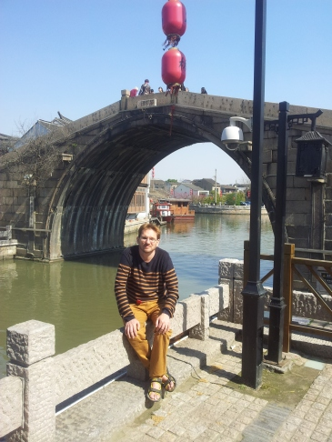 Cam at the Qingming Bridge, Wuxi